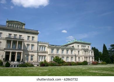 """Villa H�¼gel"" famous landmark of Essen (germany - Ruhr area)  - european capitol of culture 2010"