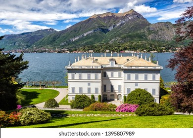 Villa Melzi in Bellagio town at the famous Italian lake Como - Image