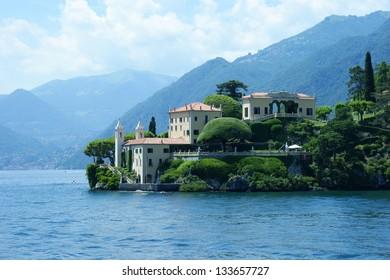 Villa on Como lake, Italy