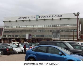 Villa Park, Birmingham, Midlands, England, UK - November 2011. Outside Villa Park, home of Aston Villa Football Club.