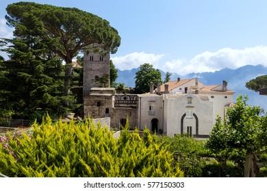 Villa Rufolo in Ravello. Italy