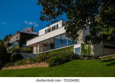 Villa Tugendhat is a historical building in Brno, Czech Republic, September 30th 2017, Editorial photo