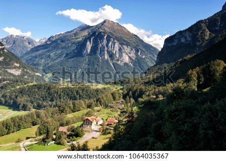 Village in the alps, Bavaria