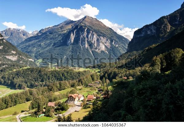 Village in the alps, Bavaria