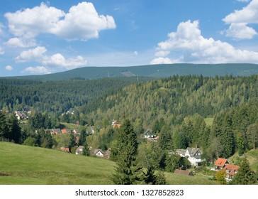 Village of Altenau in Harz Mountain,lower Saxony,Germany