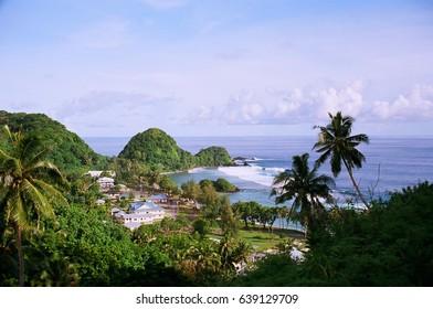 Village of Amanave, American Samoa.