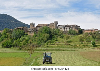 Village of Arro, Sobrarbe, Huesca province, Aragon, Spain