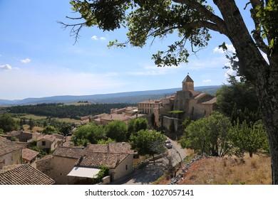 Village of Aurel, Provence, France: August 23rd, 2015