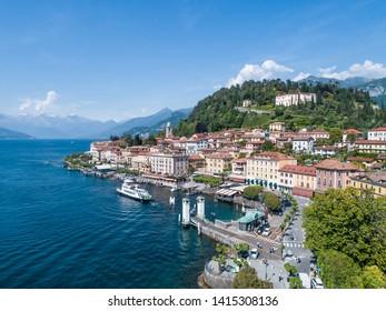 Village of Bellagio. Como lake, Italy. Tourist destination in Europe