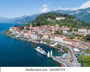 Village of Bellagio, holidays on Como lake. Italy