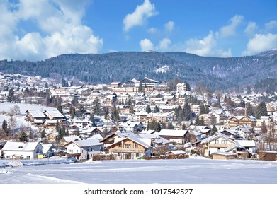 Village of Bodenmais in bavarian Forest,lower Bavaria,Germany