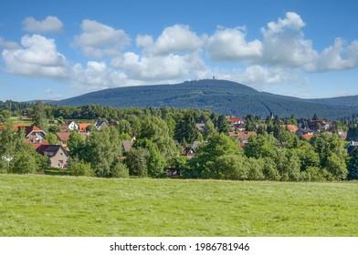 Dorf Braunlage im Harz, Deutschland
