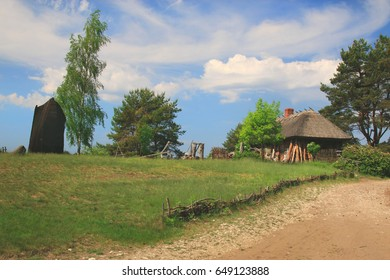 village buildings photo