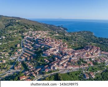 Village of Capoliveri, Elba island. Tuscany, Italy