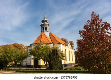 village church of Damsholte in Denmark