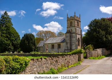 Village Church at Dunkerton, Somerset, England.