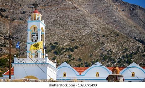 Village church of Embonas village at Rhodes island