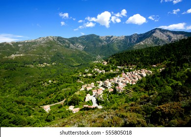 village in Corsica, France