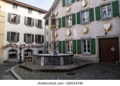 village cully in vaud in swiss