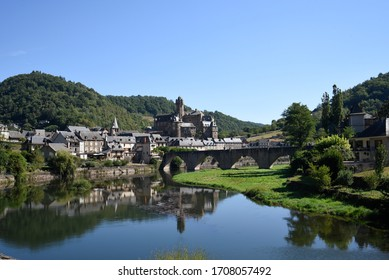 The village of Estaing in the south of France