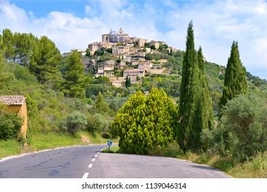 Village of Gordes in France