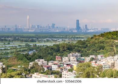 Village in Hong Kong, near Shenzhen border , China