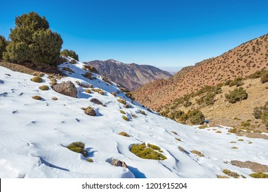 Village Imlil, High Atlas Mountains, Toubkal National Park, Marocco