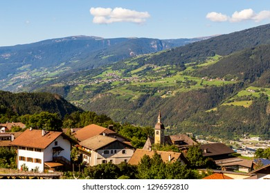 village Klerant near brixen in south tyrol, italy