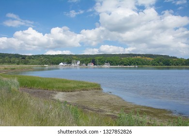 Village of Kloster on Hiddensee at baltic Sea,Mecklenburg western Pomerania,Germany