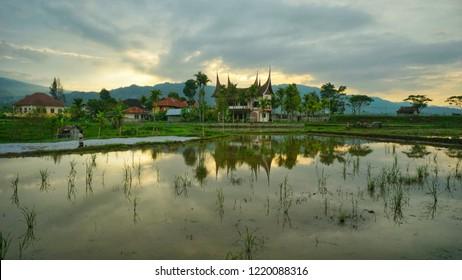 a village in Koto Gadang, Sumatera Barat ( west sumatera)