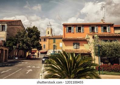 Village Le Beausset, Provence-Alpes-Côte d`Azur,  France