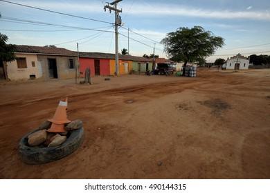 Village life in Brazil in Petrolina, 13 August 2016