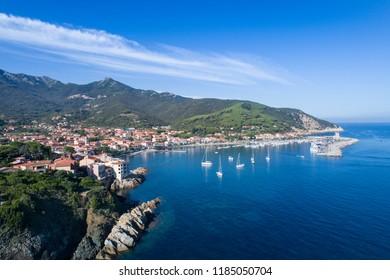 Village of Marciana Marina, Elba Island, Tuscany (Italy)