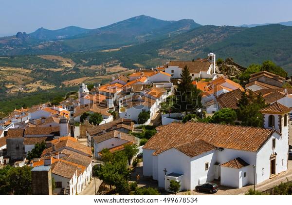 Village Marvao - Portugal - architecture background