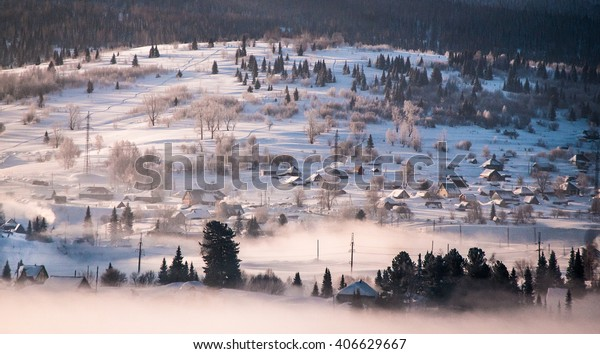 village in middle Siberia
