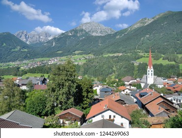 Village of Mieders in Stubaital,Tirol,Austria