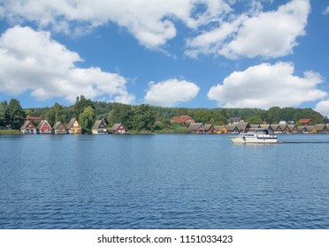 Village of Mirow in Mecklenburg Lake District,Germany