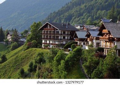 Village of Morzine in the French Alps