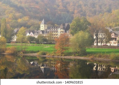 Village of Moselkern in Mosel Valley,Rhineland-Palatinate,Germany