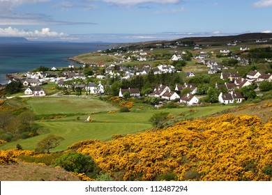 Village near Gairloch, West coast of Scotland