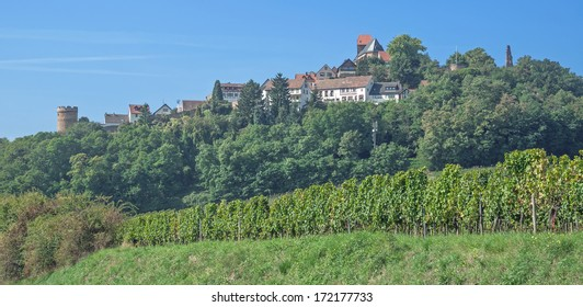 Village of Neuleiningen in Palatinate,Germany