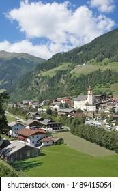 Village of Neustift im Stubaital,Tirol,Austria