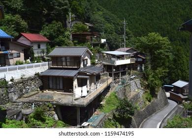 Village at Okutama, Japan