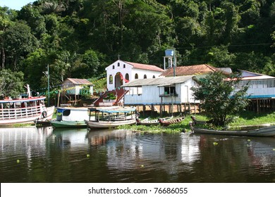 Village on the Amazon