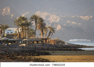 Village on the banks of the Gulf of Aquaba