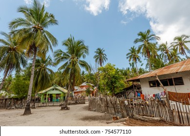 Village on Ndao Island, East Nusa Tenggara province, Indonesia