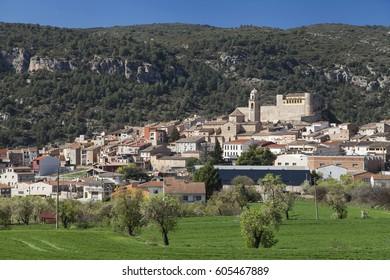 Village of Os de Balaguer in Lleida, Catalonia, Spain.