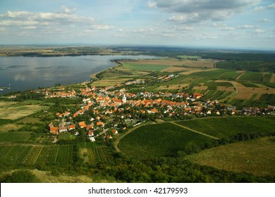 Village Pavlov from the plane