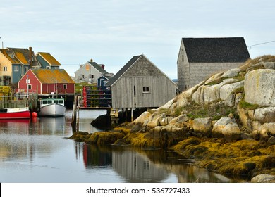 Village of Peggy's Cove, Nova Scotia Canada