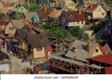 "Village ""Popeye"" on Malta Island"
